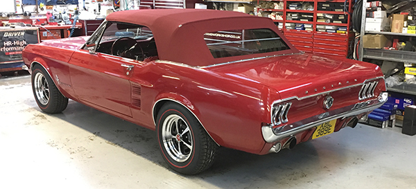 mustang workshop restoration