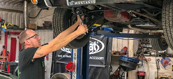 Mustang service and repair